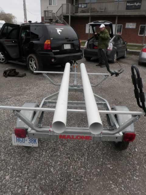 Hobie Forums • View topic - Trailer bunks for the PA